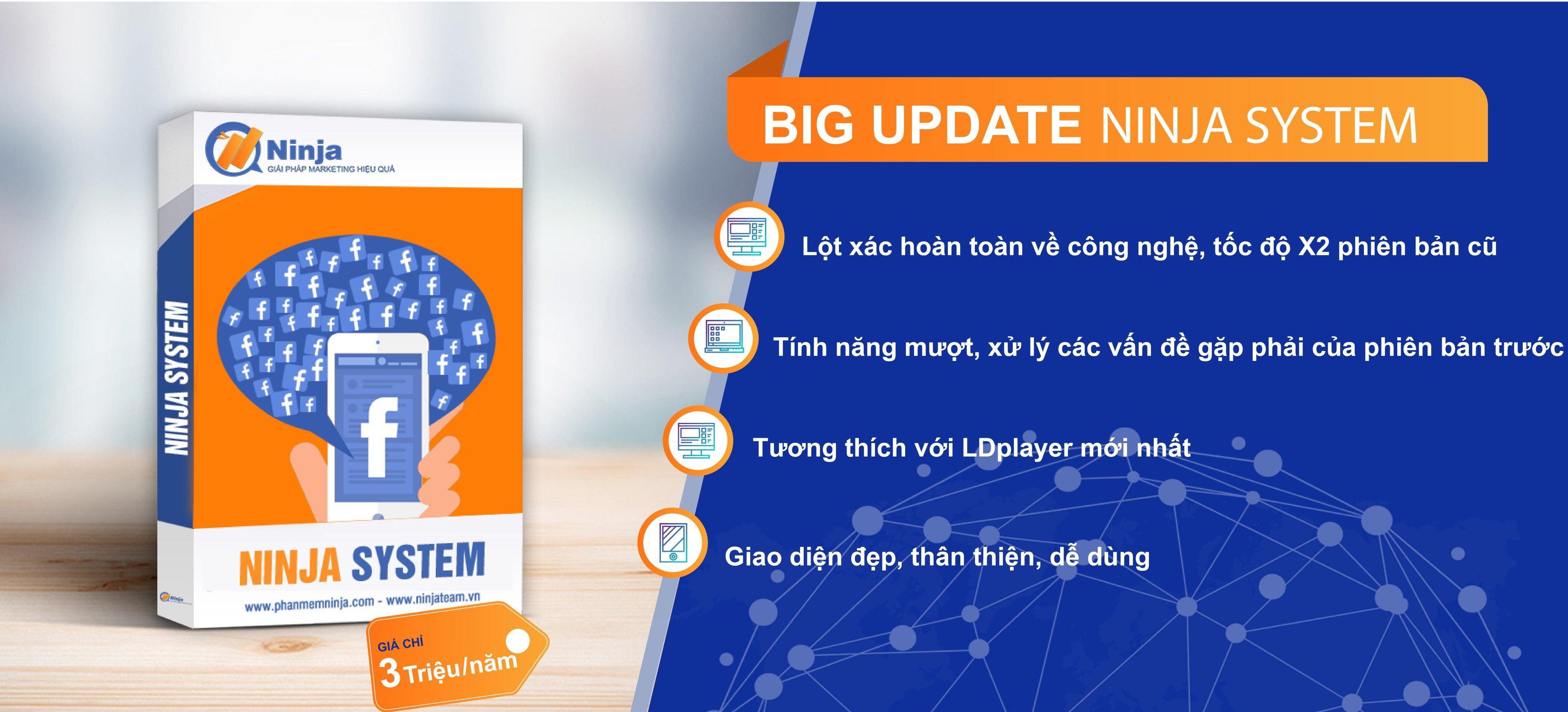 ninjasystem.v4 Cập nhật phần mềm nuôi nick giả lập Ninja System V4 version 2.3