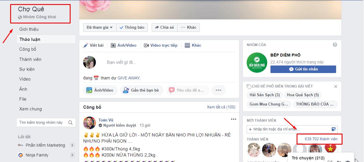 phan mem keo mem group Bán hàng trên Group Facebook mùa dịch với Phần mềm kéo mem Group