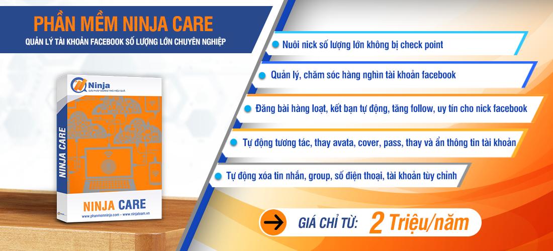 phan mem ninja care.ok  Điểm danh 5 Phần mềm quảng cáo facebook tốt trong kinh doanh online mùa dịch