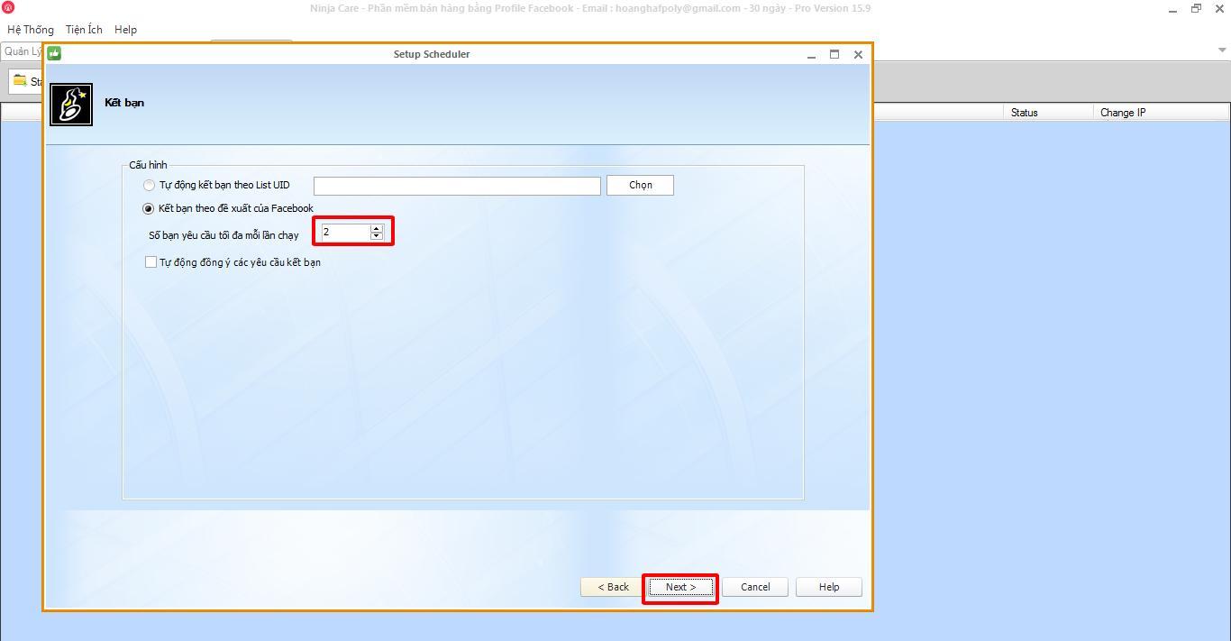 phan mem nuoi nick facebook 2 1 6 thao tác lập lịch đăng tin bằng phần mềm nuôi nick facebook 15.9