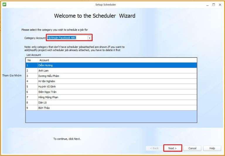 phan mem nuoi nick facebook 5 6 thao tác lập lịch đăng tin bằng phần mềm nuôi nick facebook 15.9