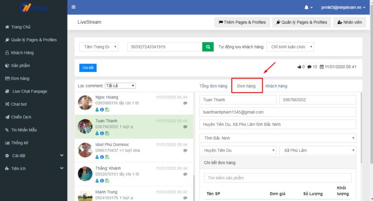 quet lstream 768x414 Điểm danh 5 Phần mềm quảng cáo facebook tốt trong kinh doanh online mùa dịch