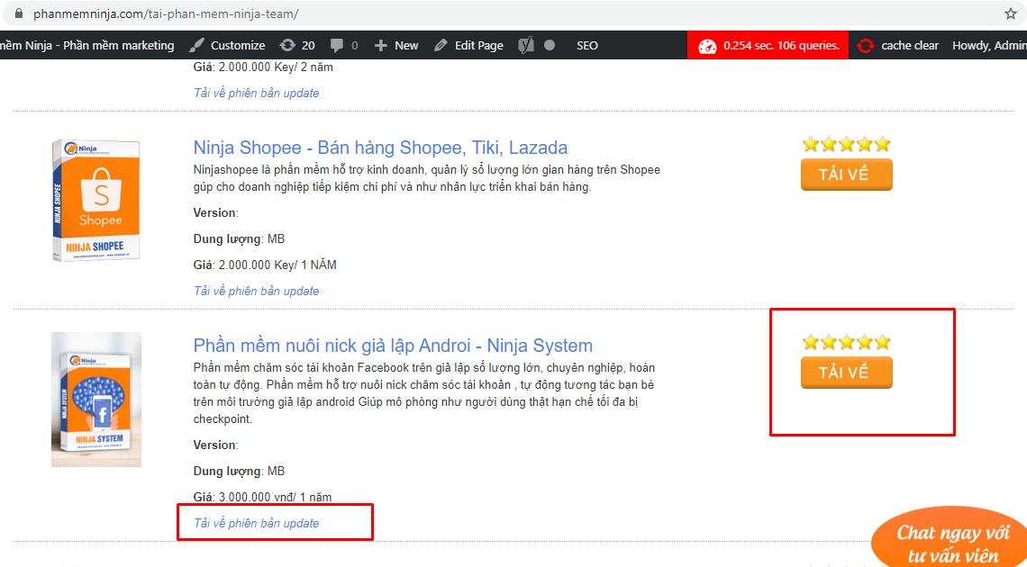 tai phan me ninja system Hướng dẫn tải phần mềm quảng cáo bán hàng facebook Ninja System