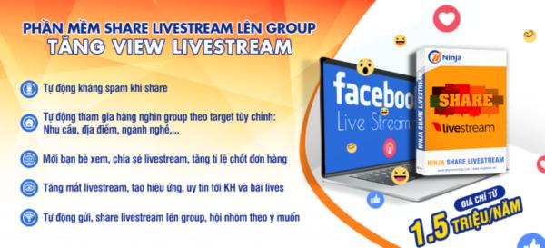 28032020 ninja share livestream 768x349 e1625717873457 Top 7 dụng cụ livestream chuyên nghiệp hỗ trợ bán hàng đỉnh cao
