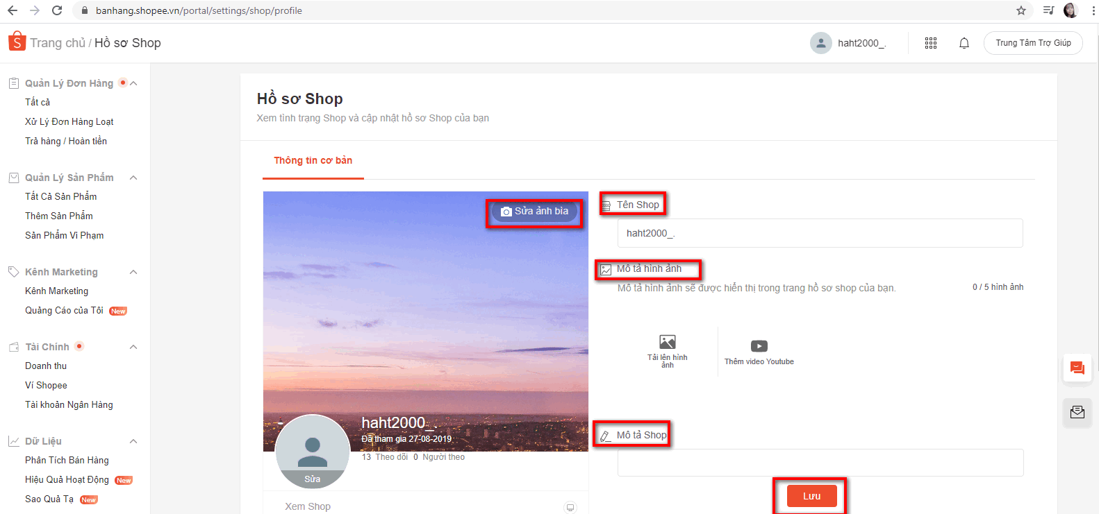 bat dau ban hang tren shopee 1 Các bước bắt đầu bán hàng trên Shopee 2020 hiệu quả nhất!