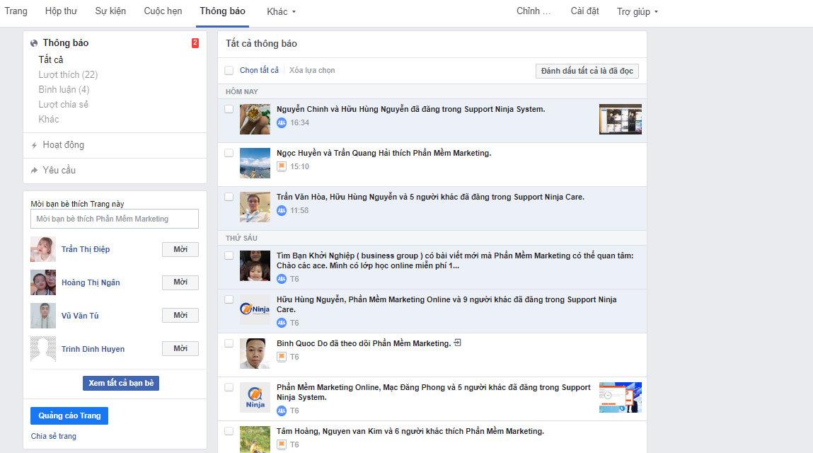 cach quan li trang tren facebook 2 Cách quản lí trang trên facebook bán hàng hiệu quả 2020