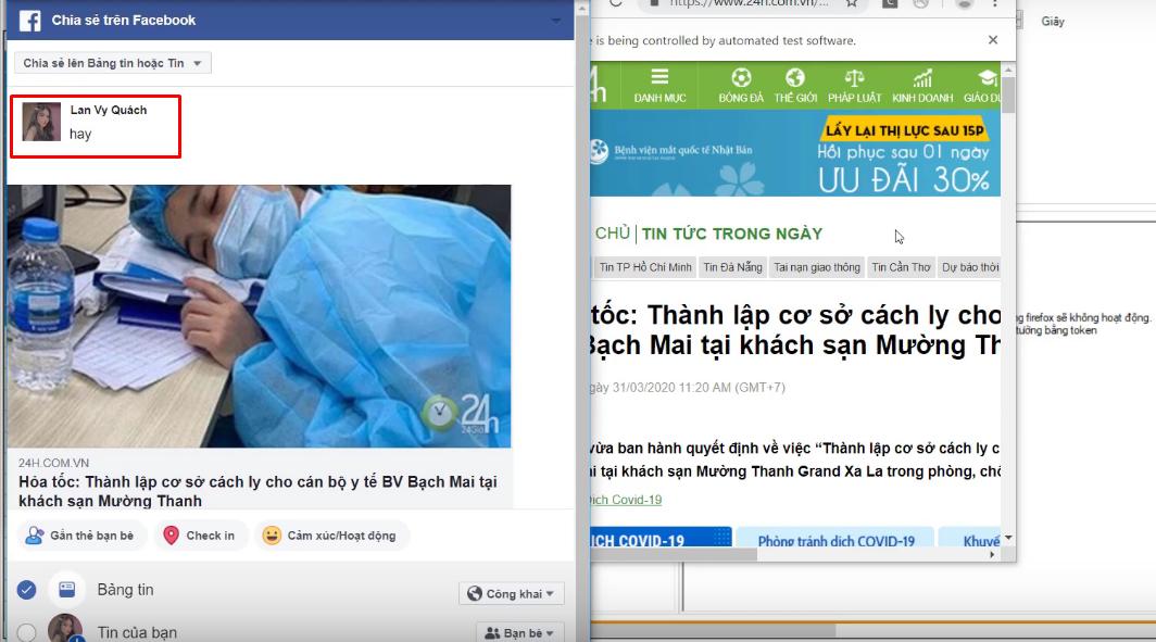 chia se link bao ve tuong ninja care4png Hướng dẫn chia sẻ link báo về tường của phần mềm nuôi nick Facebook