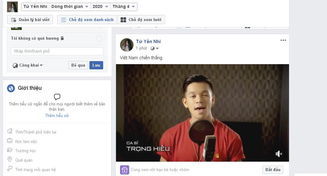dang bai kem video.9png Hướng dẫn đăng bài kèm video lên Profile trên phần mềm đăng tin bán hàng