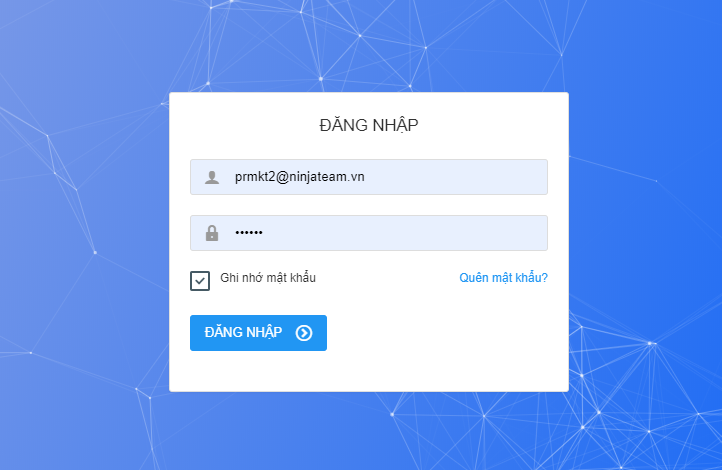 dang nhap phan mem 2 Cách tạo danh mục tài khoản trên phần mềm đăng tin facebook Ninja Auto Post V2