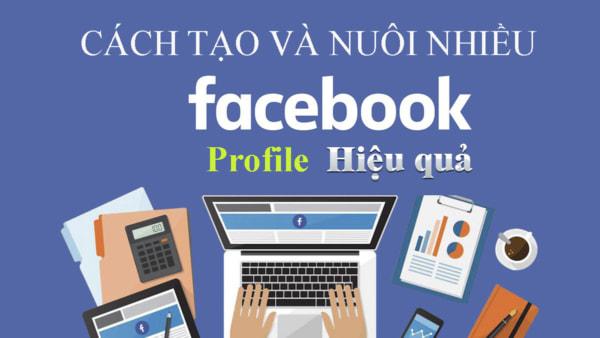facebook nick 1 Kinh nghiệm nuôi nick Facebook số lượng lớn mới nhất 2020