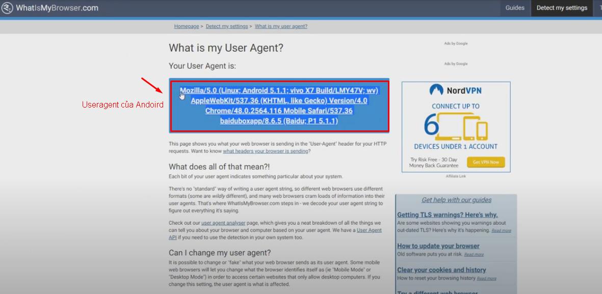 ktra Hướng dẫn thêm Useragent của tool nuôi nick số lượng lớn