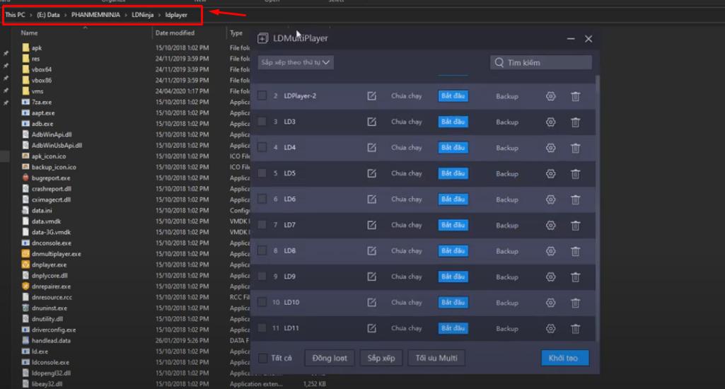 mo ld Hướng dẫn tối ưu LD Player nhẹ và mượt hơn trên phần mềm Ninja System V4