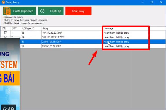 ninja system huong dan thiet lap Proxy cho LDplay4 1 Hướng dẫn thiết lập Proxy cho LDplay version 2.5 của phần mềm nuôi nick bán hàng
