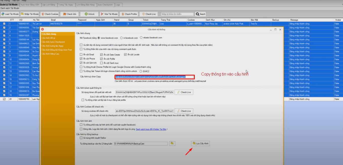 nuoi nick so luong lon Hướng dẫn thêm Useragent của tool nuôi nick số lượng lớn