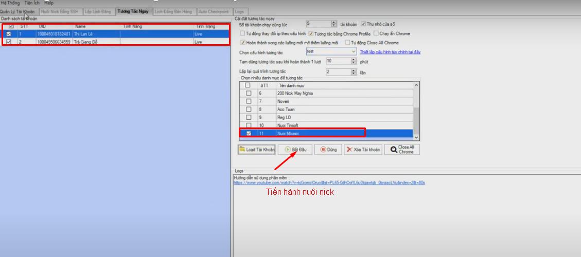 nuoi nick so luong lon6 Hướng dẫn thêm Useragent của tool nuôi nick số lượng lớn