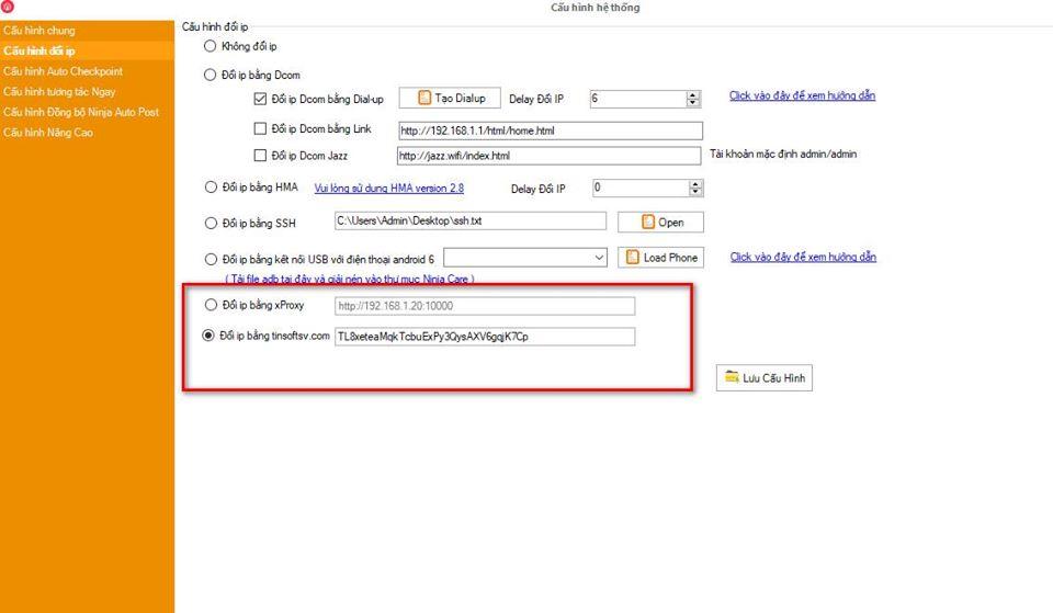 phan mem nuoi nick 2 Cập nhật phần mềm nuôi nick bán hàng Ninja Care version 16.4