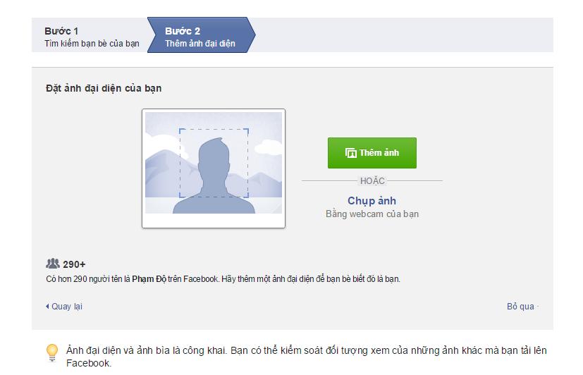 tao facebook ca nhan 3 Tạo facebook cá nhân mới cho người dùng nhanh chóng nhất 2020