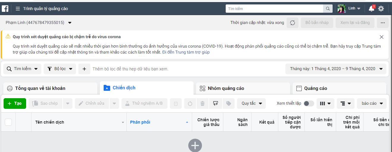 trinh quan ly trang Quản lý kinh doanh hiệu quả với trình quản lý trang facebook