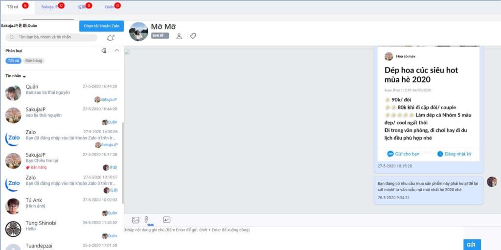 204609d37e6e8430dd7f 1024x511 Hướng dẫn chat Profile trên phần mềm chatbot Zalo tự động