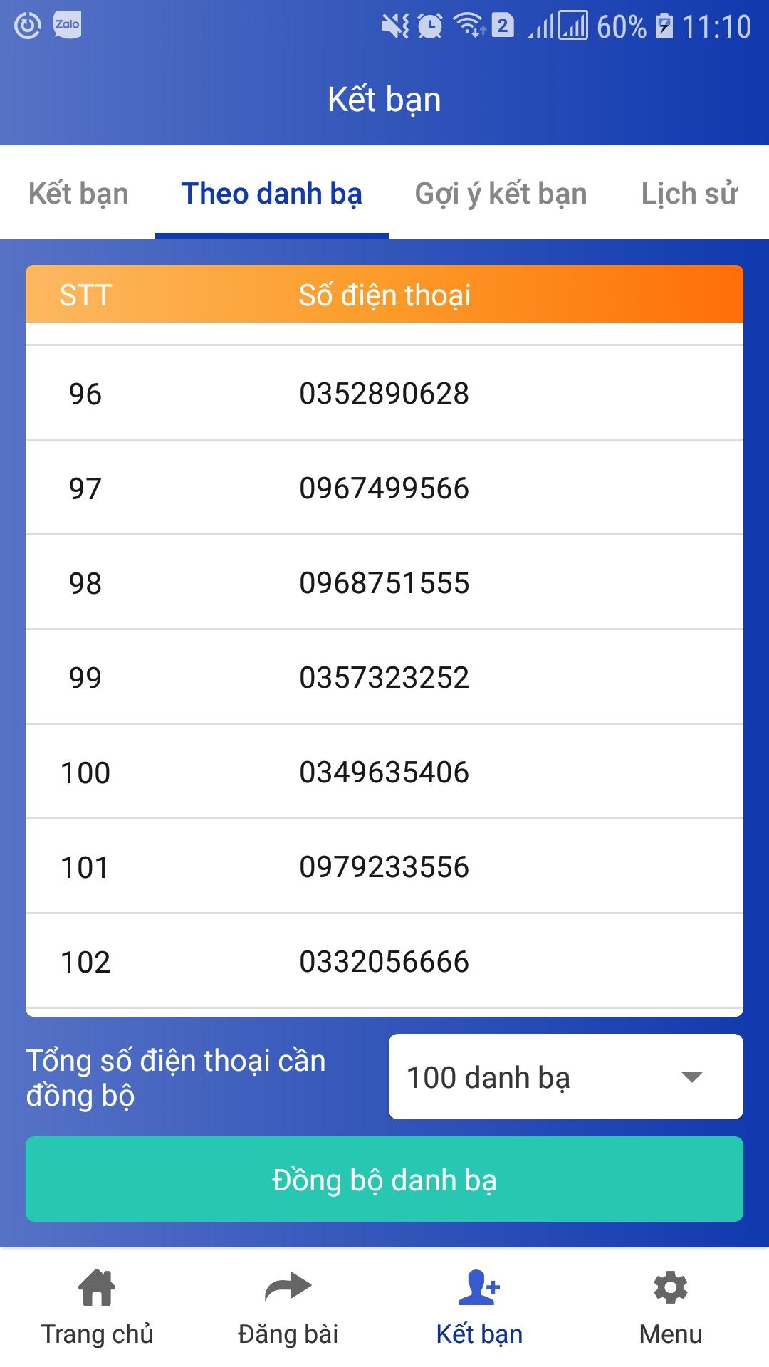 30a243f868769228cb67 Hướng dẫn sao chép danh bạ với phần mềm đồng bộ số điện thoại Ninja Zalo V2