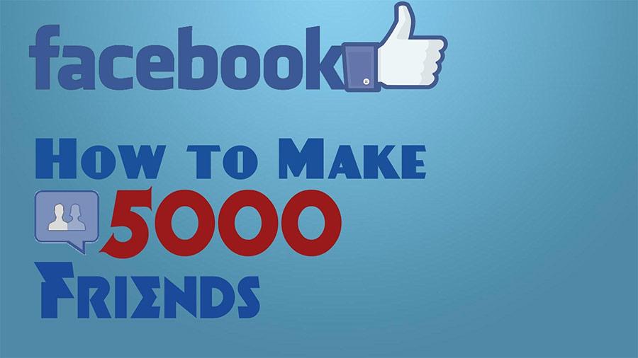 5000friends Sở hữu tệp bạn bè chất lượng với phần mềm tự động kết bạn Facebook