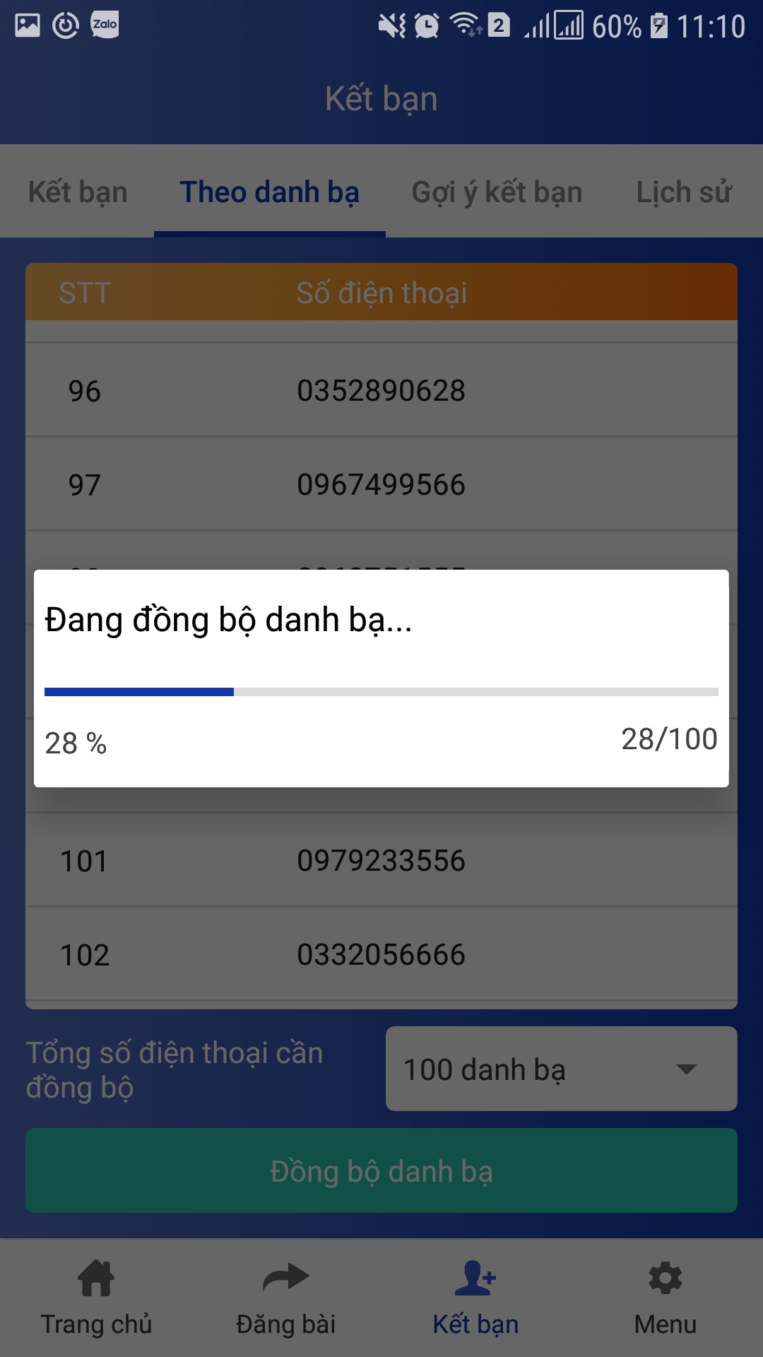 724b78e65368a936f079 Hướng dẫn sao chép danh bạ với phần mềm đồng bộ số điện thoại Ninja Zalo V2