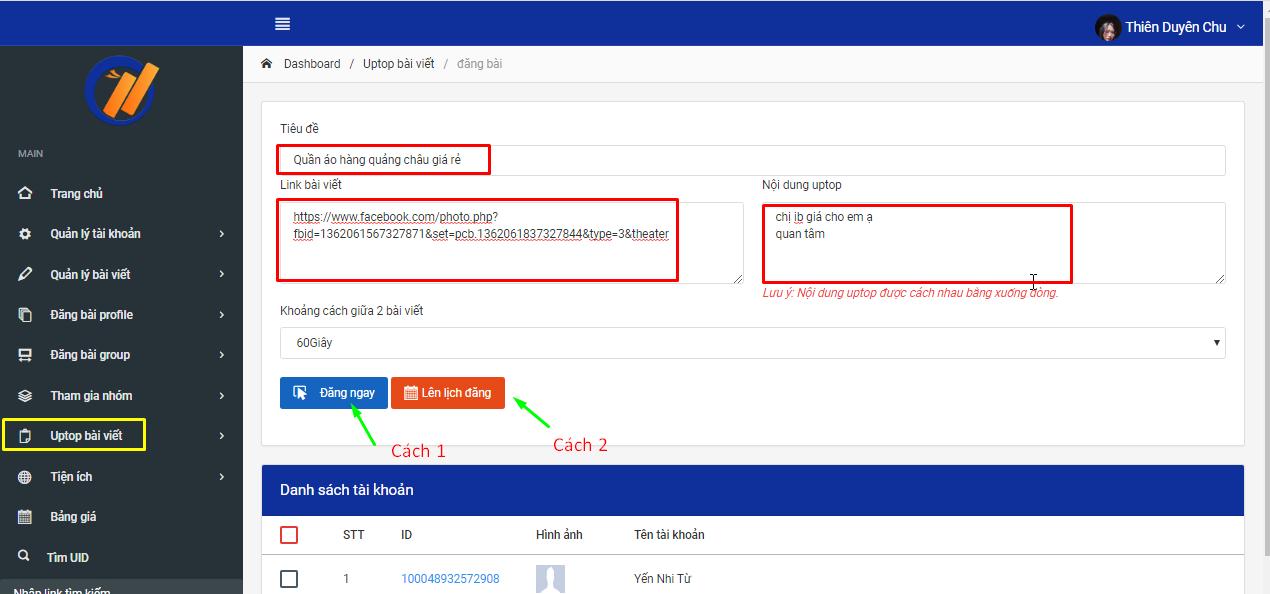 Screenshot 4 1 Tạo sản phẩm bán hàng thu hút với phần mềm đăng tin quảng cáo V2
