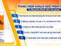 Phần mềm kết bạn facebook hàng loạt - Ninja Add mem group