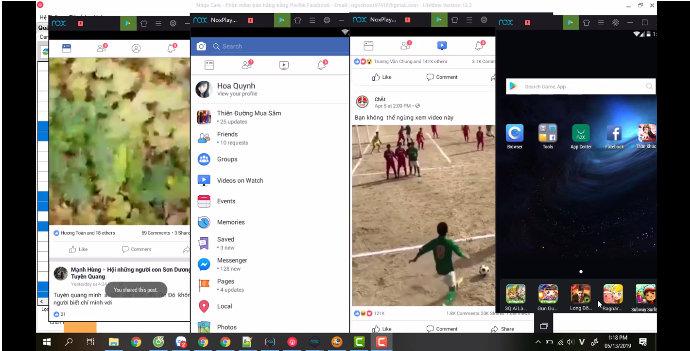cong cu quan li nick facebook 1 Ninja System  Công cụ quản lí nick facebook số lượng lớn chuyên nghiệp