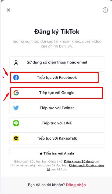 dang ky tik tok Hướng dẫn cách tạo tài khoản Tik Tok trên điện thoại chỉ với 3 bước đơn giản