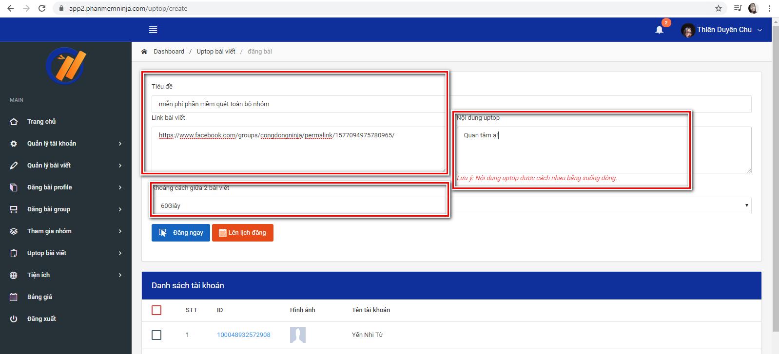 phan mem auto facebook 1 Phần mềm facebook auto hướng dẫn uptop bài viết nhanh chóng