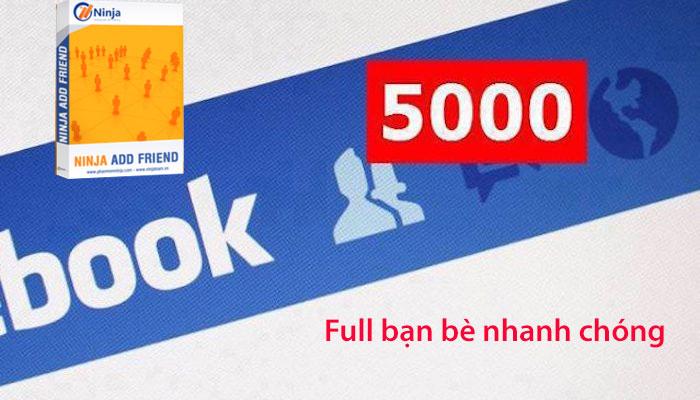 phan mem moi ket ban facebook Add 5000 bạn bè nhanh chóng với Phần mềm mời kết bạn facebook