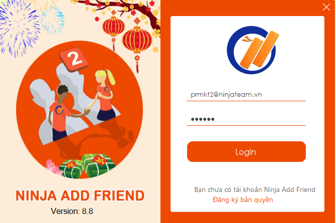 pm add friend 8.8 Hướng dẫn kết bạn bằng cookies trên phần mềm kết bạn facebook 8.8
