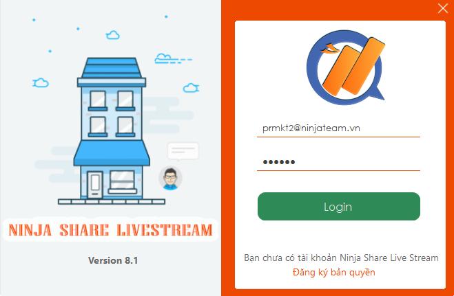 share livestream8.1 Hướng dẫn mời xem livestream trên phần mềm chia sẻ livestream