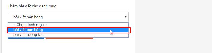 zalo ban hang.2png Hướng dẫn đăng bài kèm ảnh trên OA với phần mềm quảng cáo Zalo version mới