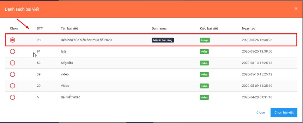 zalo ban hang.3png 1024x417 Hướng dẫn đăng bài kèm ảnh trên OA với phần mềm quảng cáo Zalo version mới