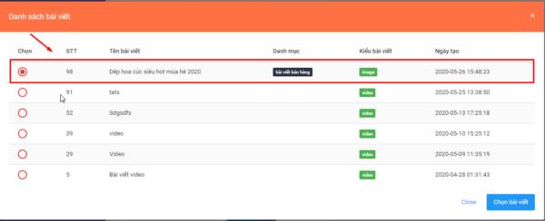 zalo ban hang.3png e1626073132441 Cách đăng bài trên Zalo Official Account nhanh chóng, tự động