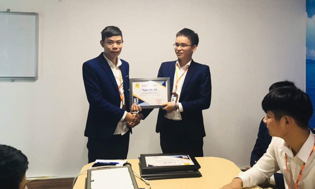 anh 3 1024x615 Phần mềm Ninja: Khen thưởng nhân viên kinh doanh xuất sắc tháng 5.2020