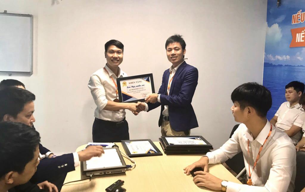 anh 4 1024x647 Phần mềm Ninja: Khen thưởng nhân viên kinh doanh xuất sắc tháng 5.2020