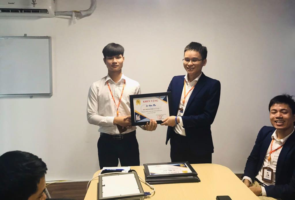 anh 6 1024x694 Phần mềm Ninja: Khen thưởng nhân viên kinh doanh xuất sắc tháng 5.2020