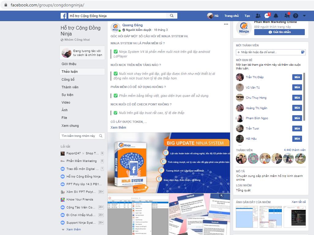 ban hang tren group facebook 2 Bật mí: Nguyên tắc thực hiện Facebook Marketing 0 đồng
