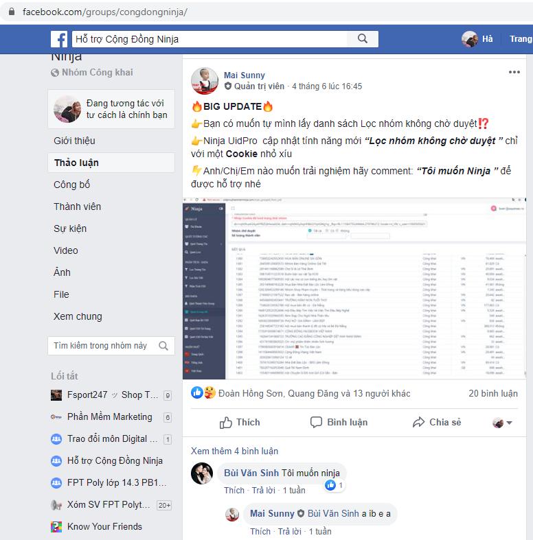 ban hang tren group facebook Bằng cách nào để bán hàng trên Group Facebook hiệu quả nhất 2020