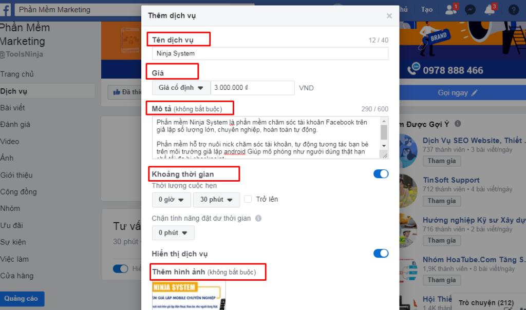 mau tab 3 1024x604 Facebook Shop là gì? Hướng dẫn cách tạo Facebook Shop mới nhất 2020