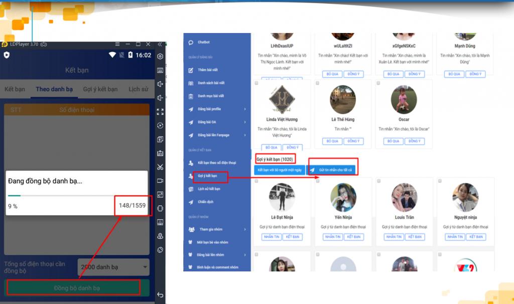 ninja zalo 1024x607 Bí kíp tăng doanh thu bán hàng trên Facebook đơn giản, hiệu quả