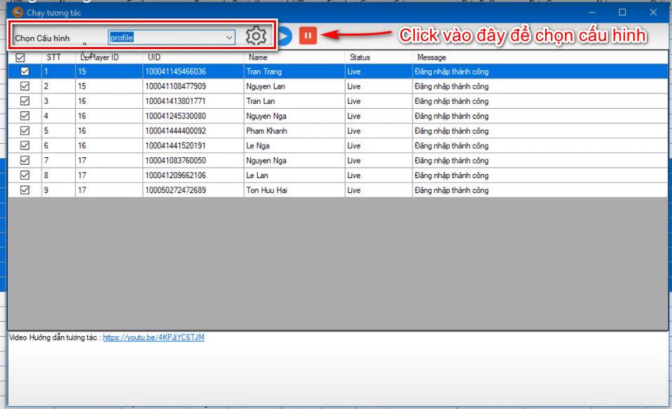 phan mem nuoi nick 9 Chạy tương tác đăng bài trên phần mềm nuôi nick  Ninja System(P1)
