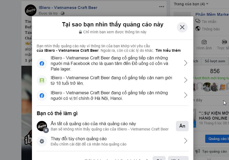 qcao Phân tích Fanpage đối thủ hiệu quả với phần mềm quét tương tác Facebook