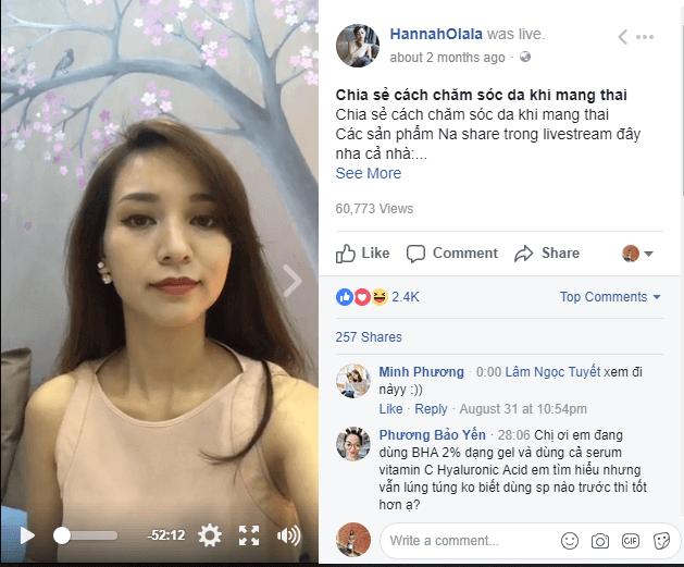 sai lam khi livestream facebook 5 gợi ý Marketing dịp lễ cuối năm bạn nên áp dụng
