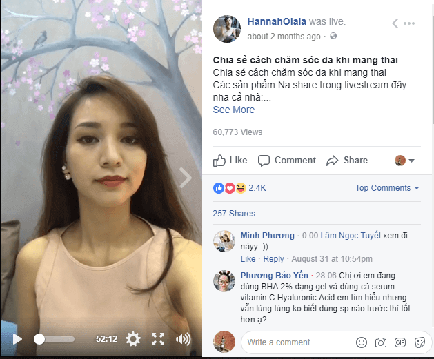 sai lam khi livestream facebook 4 Sai lầm khi livestream facebook bán hàng dễ mắc phải