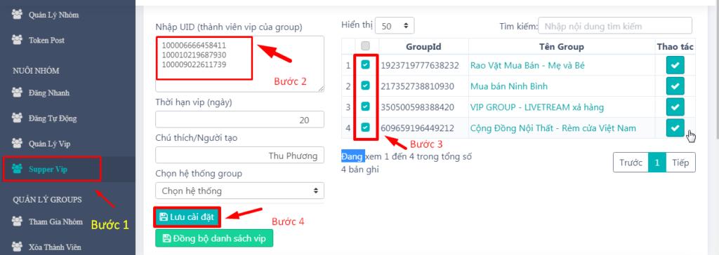 super vip1.jpg 1024x364 Đăng bài lên nhóm không cần chờ duyệt với phần mềm Ninja Group