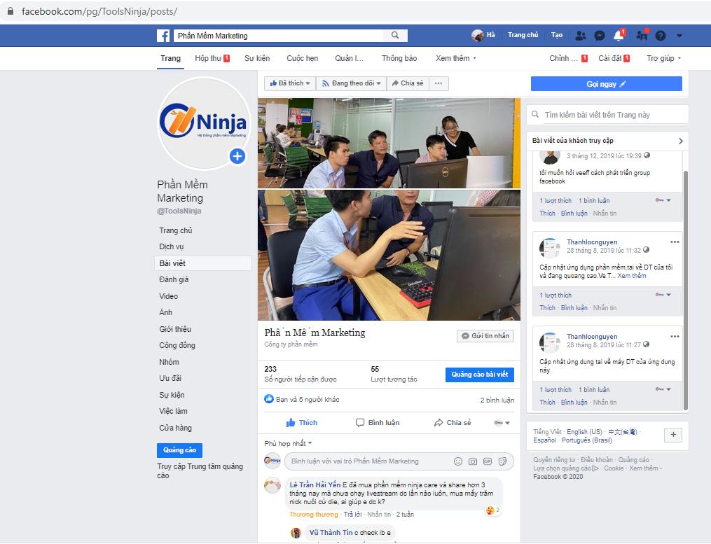 tang tuuong tac fanpage 2 Làm thế nào để tăng tương tác fanpage facebook hiệu quả nhất
